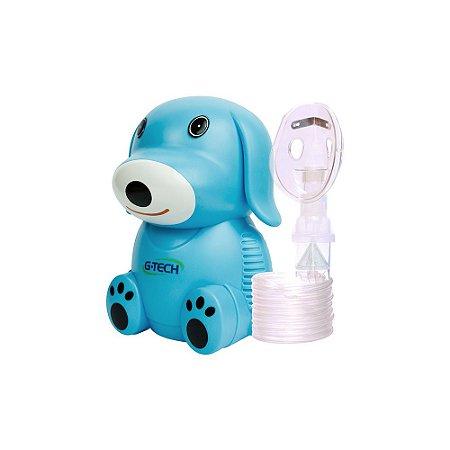 Inalador E Nebulizador Nebdog Azul G-Tech