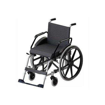 Cadeira de Rodas Taipu J3 Prata 44 Jaguaribe