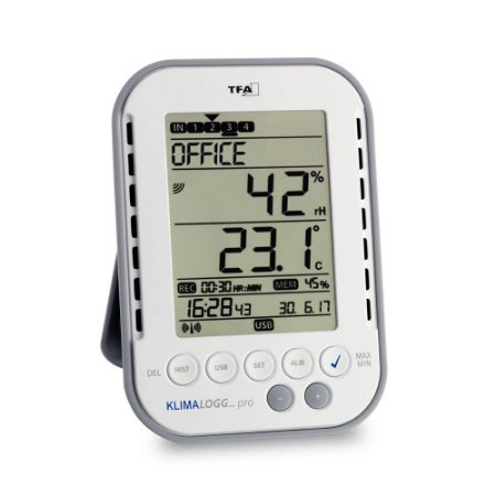 Termo-Higrômetro Klimalogg Pro Data Logger Wireless Incoterm