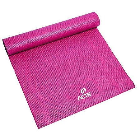 Tapete Para Yoga T10-R Yoga Mat Rosa Acte