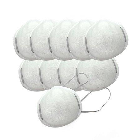Máscara Concha Tripla  - pacote c/ 10un - Supermedy