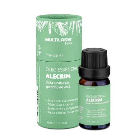 Óleo Essencial de Alecrim - Energizar 10mL HC123 Multilaser