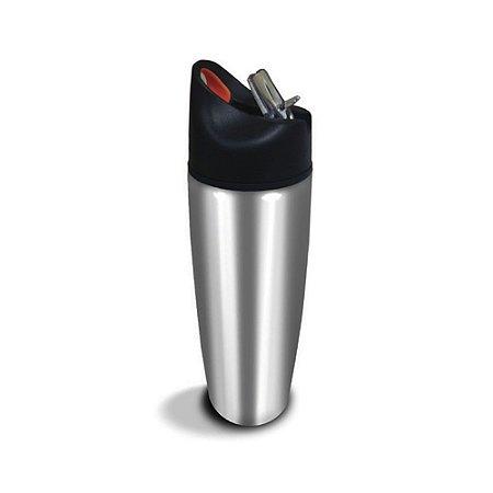 Squeeze Ínox 900ml Prata C16 ACTE