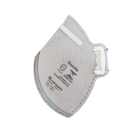Máscara Respirador PFF2 S com Carvão Ativado CG431 Carbografite
