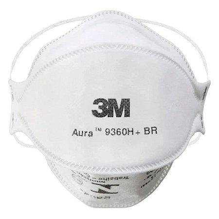 Máscara Aura 9360H+BR Respirador PFF-2 S 3M