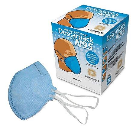 Máscara de Proteção N95 Caixa c/20 un. Descarpack