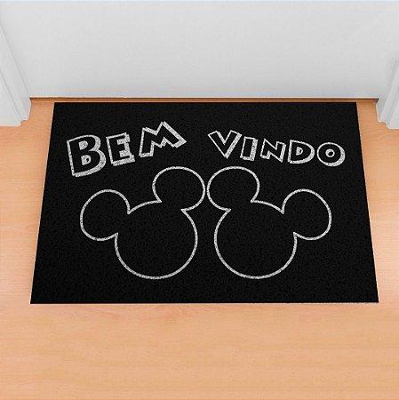 Capacho Mickey Bem vindo