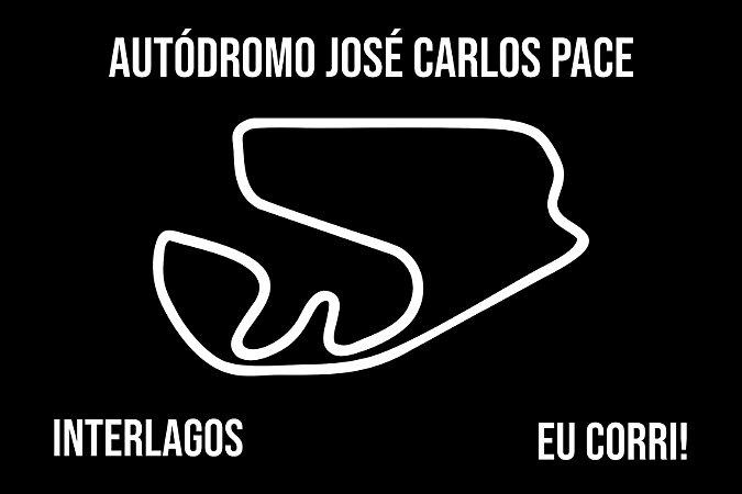 Capacho Racing Interlagos Traçado preto