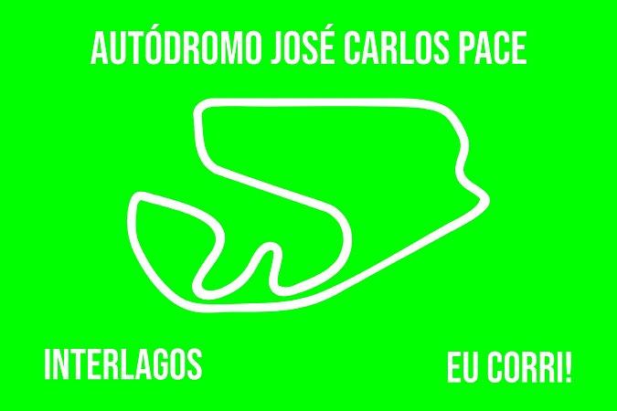 Capacho Racing Interlagos Traçado verde