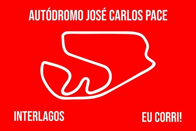 Capacho Racing Interlagos Traçado vermelho