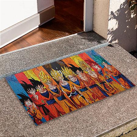 Capacho Dragon Ball Goku Evolução