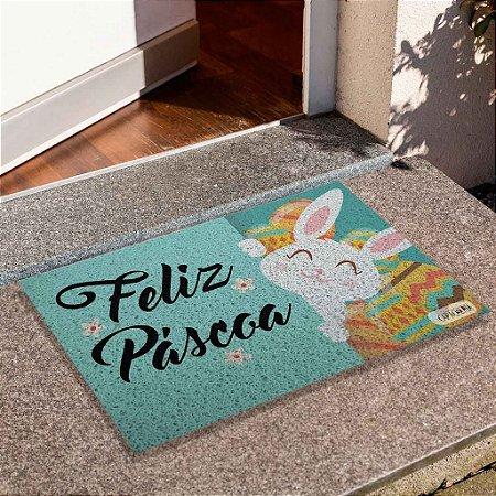 Capacho Feliz Páscoa Coelho
