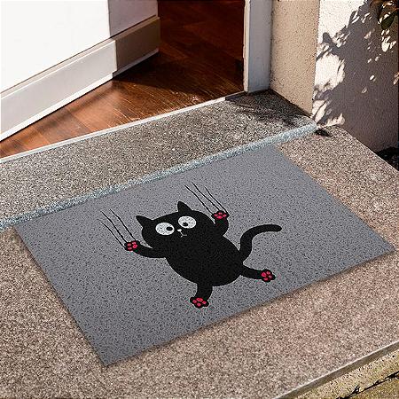 Capacho Gato Escorregando
