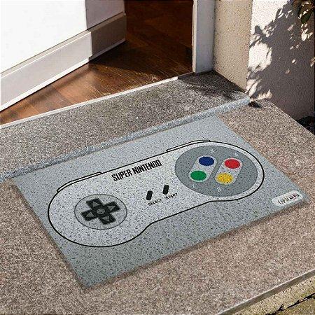 Capacho Controle Vintage Nintendo