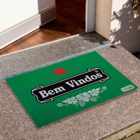 Capacho Bem Vindos Heineken