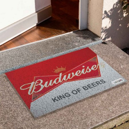 Capacho Budweiser Branco