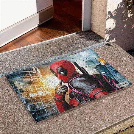 Capacho Deadpool Explosão