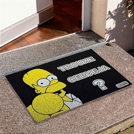 Capacho Homer Trouxe Cerveja