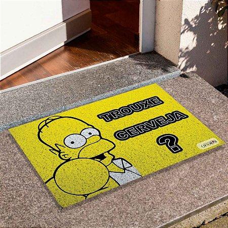 Capacho Trouxe Cerveja Homer