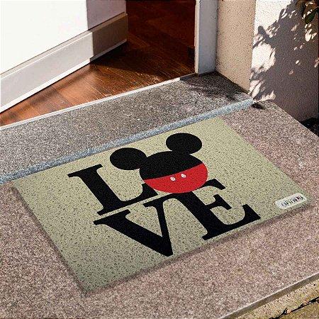 Capacho Love Mickey 2