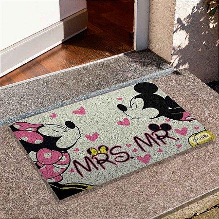 Capacho Mickey E Minnie Love