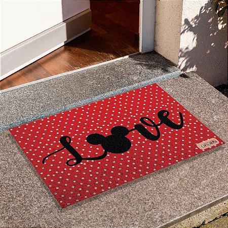 Capacho Love Mickey 3