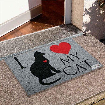 Capacho I Love Cat