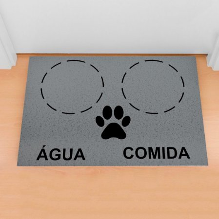 Capacho Pet Gato/Cachorro Hora Do Lanche