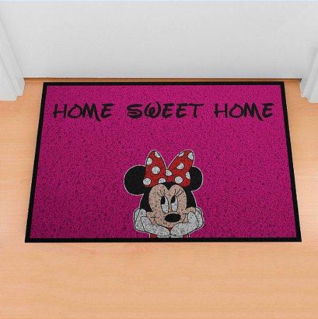 Capacho Home Sweet Home Pink