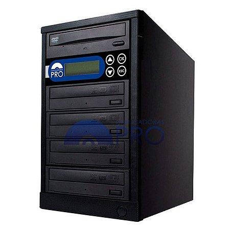 Duplicadora de DVD e CD com 5 Gravadores Sony 7280s