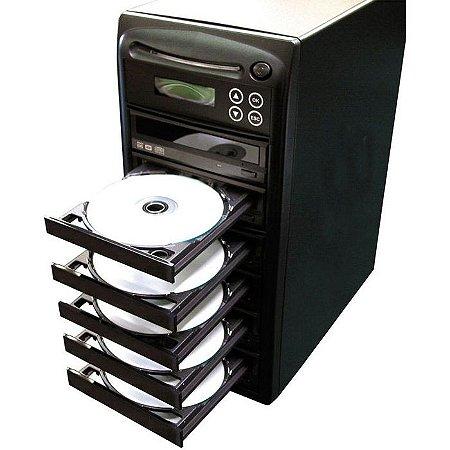 Duplicadora de DVD e Cd com 6 Gravadores Asus DL