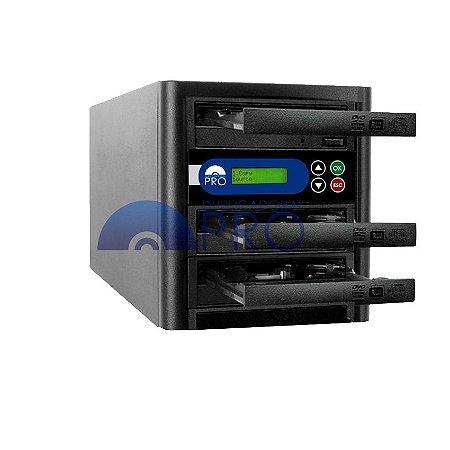 Duplicadora de CD e DVD com 03 Gravadores Sony 5280s