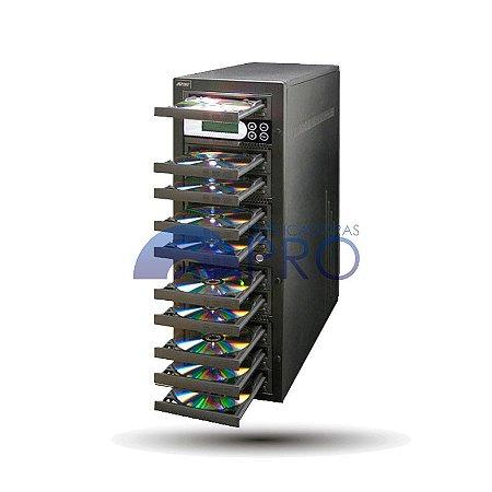 Duplicadora de CD e DVD com 10 Gravadores Pioneer