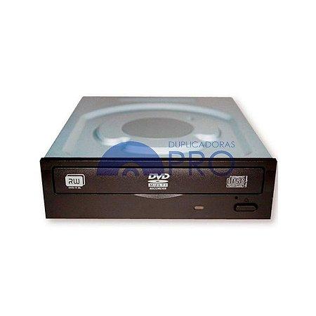 Drive Gravador de DVD e CD Lite On iHAS122 SATA Preto