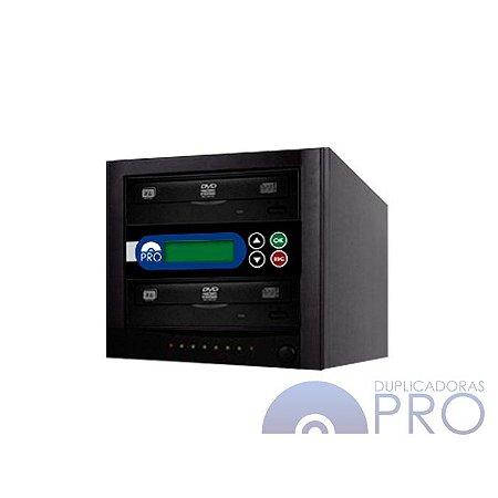 Duplicadora de DVD e CD com 2 Gravadores Philips Lite-on