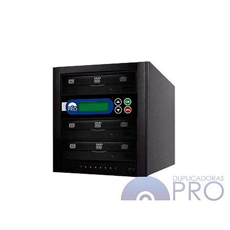 Duplicadora de DVD e CD com 3 Gravadores Philips Lite-on
