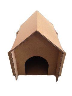 Kit com 6 casinhas de gato e cachorro tamanho M