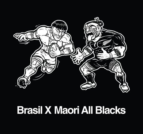 Camisa Tupis X Maori All Blacks Ruckr