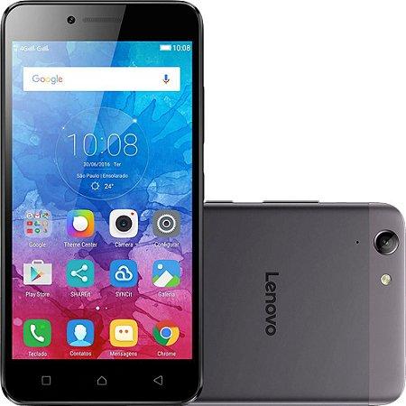 "Smartphone Lenovo Vibe K5 Dual Chip Android Tela 5"" 16GB 4G Câmera 13MP - Grafite"