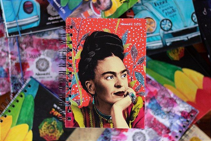 Frida Kahlo Espiral - Agenda Namastê 2021