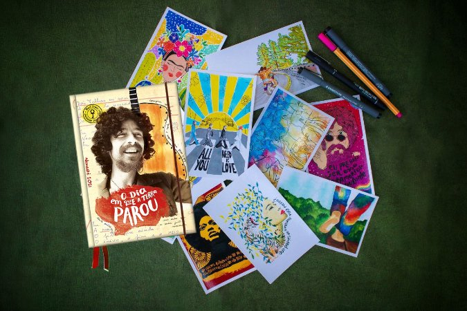 Agenda Raul Livro + Kit Postal