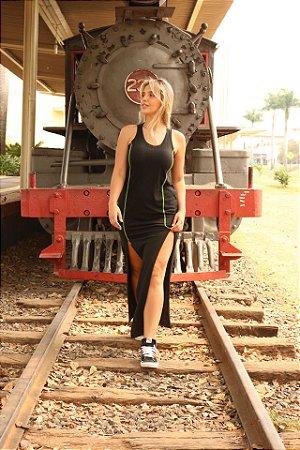 Vestido Longo Rustico Neon Vibes - 31424
