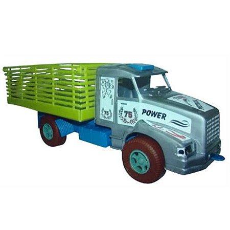 Caminhão com Carroceria - 35 cm - Ref.91 - Injeto Plastic pex1