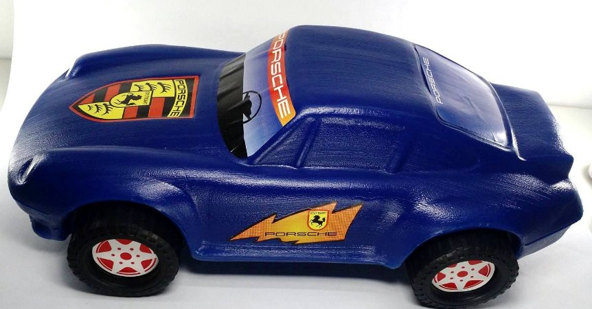 Carro Porshe - Varias Cores - 42 cm - Ref.0057  pex1,5