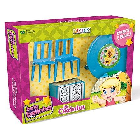 Moveis de Brinquedo - Kit Cozinha - Bela Belinha - Ref 927 - Plas polo- Matrix