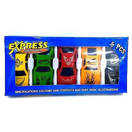 Carrinhos Miniaturas - kit com 5 carrinhos - AB7375