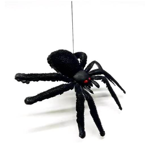 Aranha Caranguejeira de brinquedo com linha - 3180 - Toys Festas