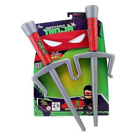 KIT Ninja 2 adagas 1 mascara - 3PC - LePlastic - Ref.9961