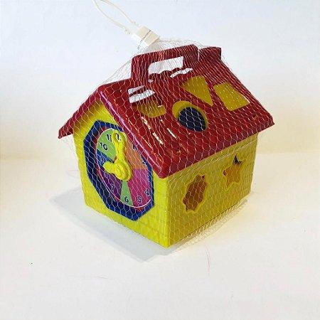 Casa Educativa - Amor de Casinha - com Relógio Didático 646