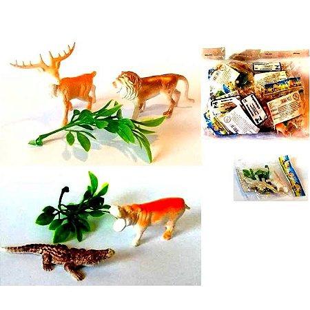 Kit animal com 3 pecas -MINI - Pacote com 12 kits - H006-H009